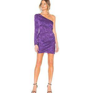 NWT Privacy Please Kerry Mini Dress in Purple, S
